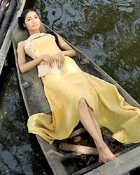 Hoa đẹp trong thế giới người mẫu Tống Bạch Thủy