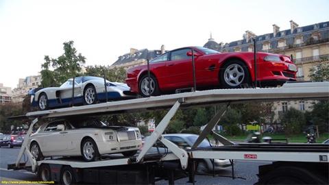 Hình ảnh 11 siêu xe của Tổng thống Guinea bị giữ ở Pháp