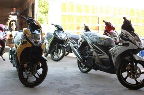 Ảnh chi tiết về Yamaha Nouvo mới tại Việt Nam
