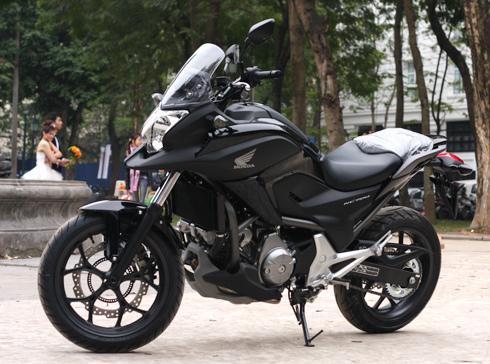 Hình ảnh Honda NC700X đầu tiên ở Việt Nam