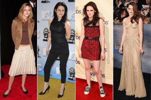 Cuộc cách mạng thời trang của Kristen Stewart kinh ngạc