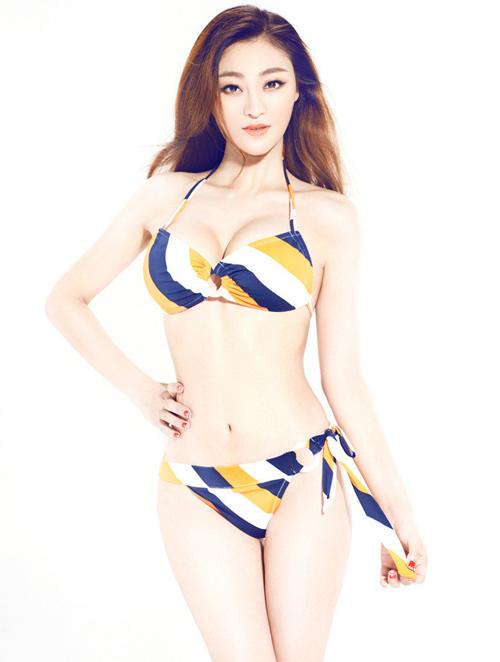 Cách diện bikini chuẩn như người mẫu