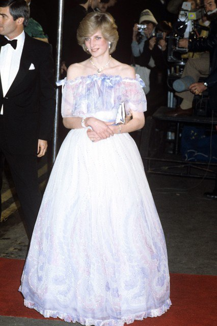 Phong cách thời trang của công nương Diana