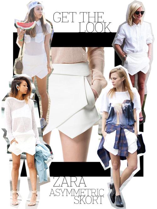Quần soóc giả váy Zara gây 'bão' đường phố thu hút tín đồ