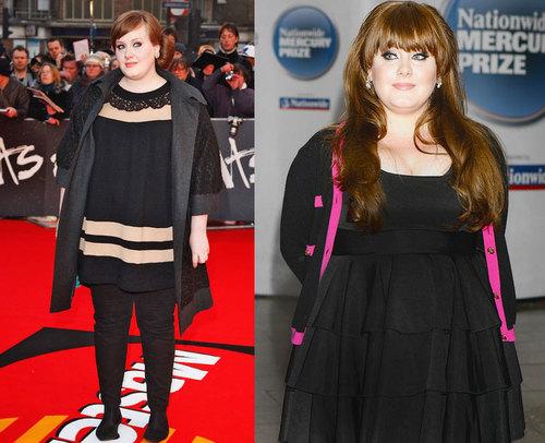 Adele - tín đồ váy đen nhưng cực dễ thương