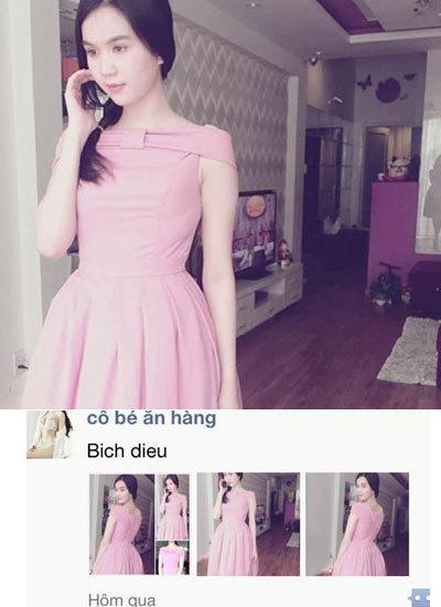 Ngọc Trinh may váy y hệt Maria Đinh Phương Ánh