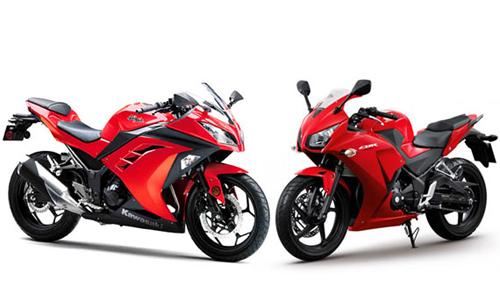 Honda CBR300R và Kawasaki Ninja 300 thật khó khăn để lựa chọn