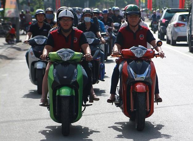 Honda SH lại tụ họp tại Biên Hòa