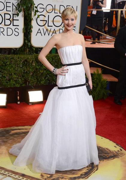 Trào lưu 'nhái' váy của Jennifer Lawrence