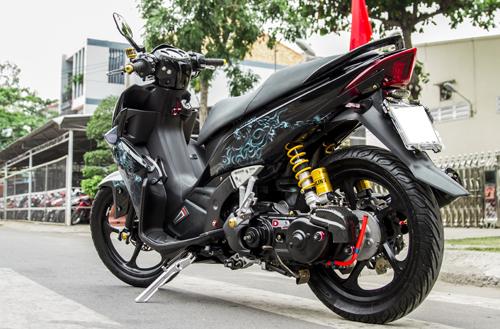 Yamaha Nouvo sơn airbrush cực đẹp tại Sài Gòn