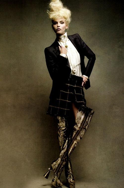 Béo, thấp, xăm trổ đều được làm người mẫu của Anti-Agency