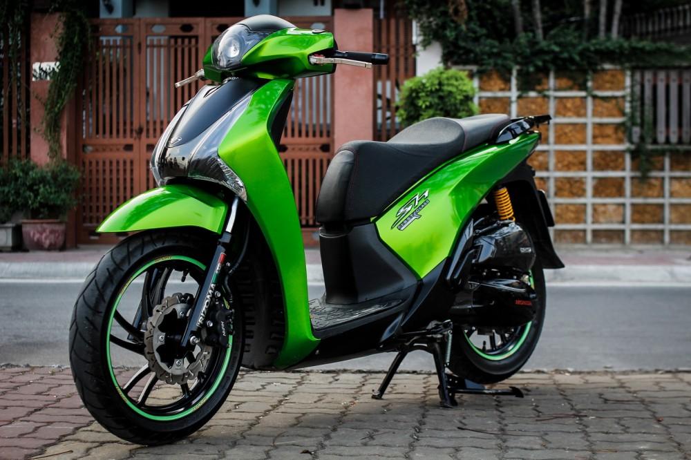 Honda SH đẹp - độc của dân chơi Hà Thành