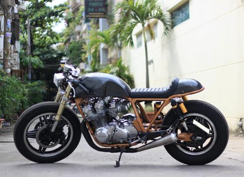 Hình anh Honda CB750 phong cách Cafe Racer