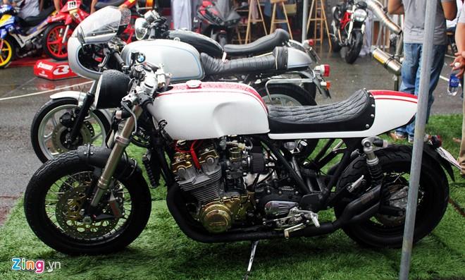 Honda CB1000 độ Cafe racer phong cách tại Sài Gòn