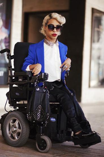 Nghị lực của các người mẫu khuyết tật