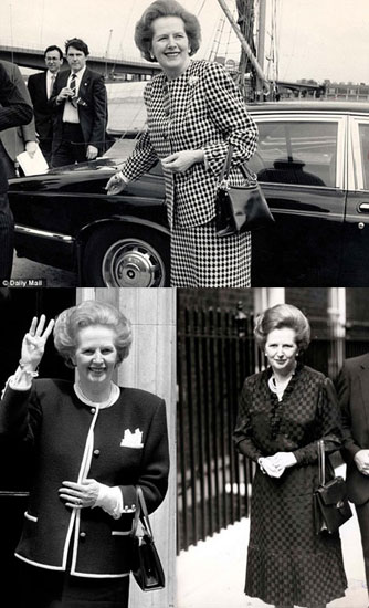 Gu thời trang của các nữ chính khách Margaret Thatcher