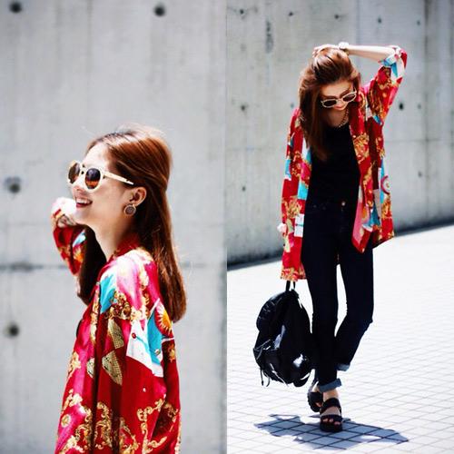 Phong cách thời trang chào thu sành điệu của tín đồ Châu Á
