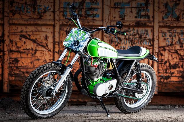 83 Yamaha SR500 the phong cách Flat Tracker