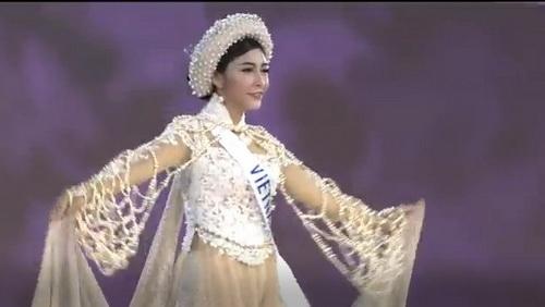 """Đặng Thu Thảo """"trắng tay"""" tại Hoa hậu Quốc tế"""