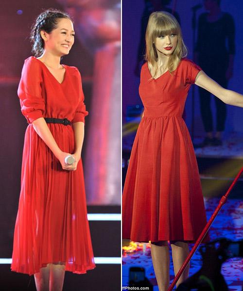 Thời trang của Taylor Swift được sao Việt ưa chuộng