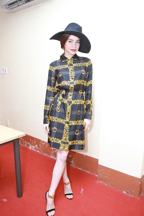 Hồ Ngọc Hà chơi trội với váy hàng hiệu