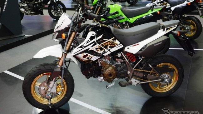 Kawasaki KSR110 đối thủ nặng ký của Honda MSX125 ra mắt phiên bản đặc biệt