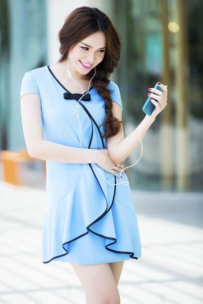 Những bộ váy mùa hè của Diệu Hân