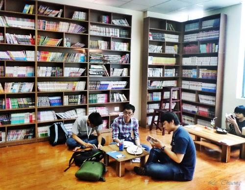 Quán cà phê cho người mê Manga ở Hà Nội