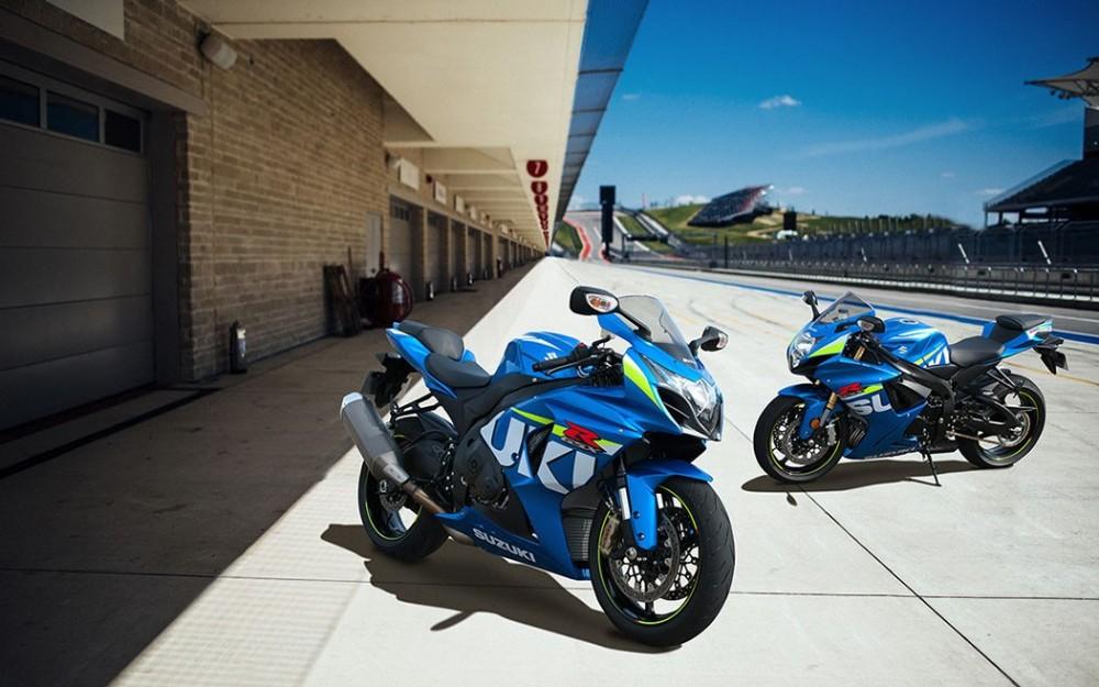 Suzuki GSX-R ra mắt phiên bản màu mới MotoGP