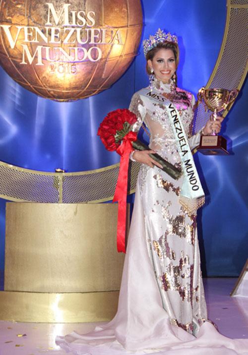 Nhan sắc kiều diễm của tân Hoa hậu Venezuela