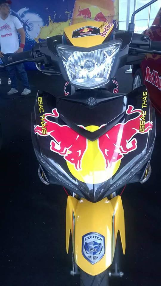Exciter phiên bản Redbull tại việt nam Motorbike Festival 2015