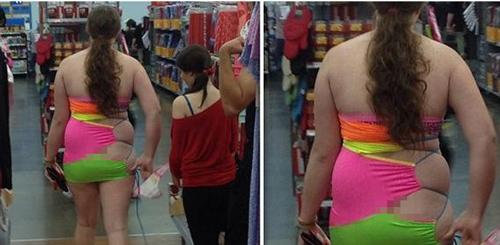 Những thảm họa thời trang siêu thị