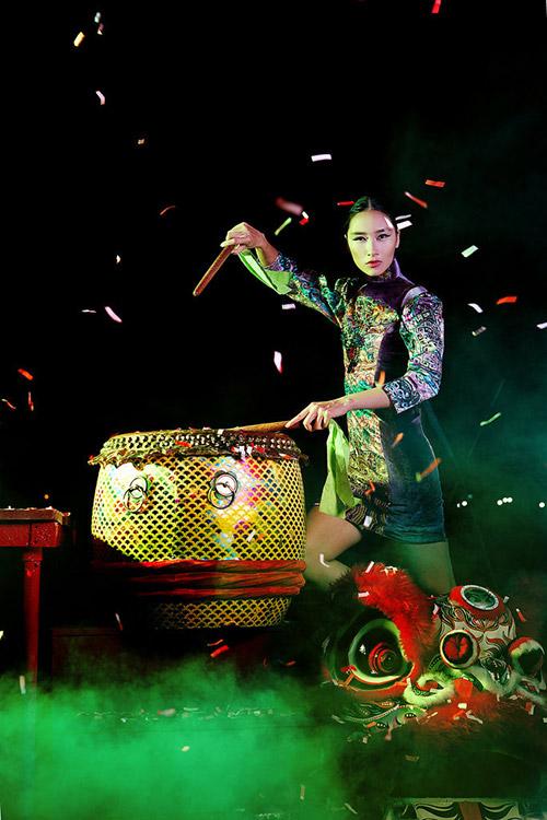 Trang Khiếu làm gì khi không sang trời tây theo fashion week