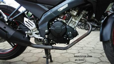 Yamaha Fz150i gắn bộ lốc nồi Exciter 150