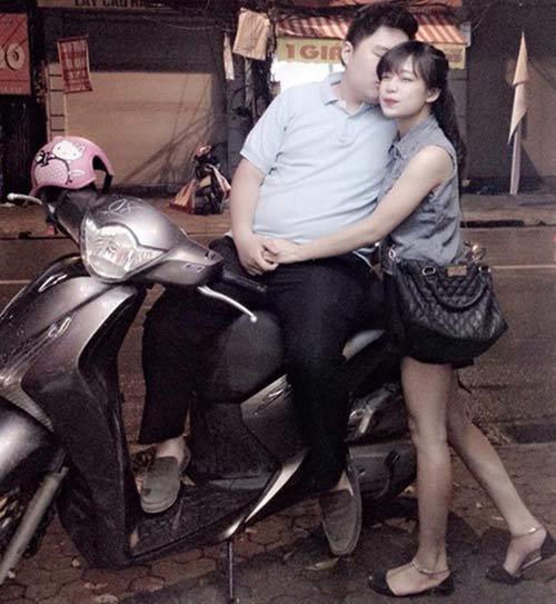 Câu chuyện về cặp đôi bố 100kg, mẹ 40kg