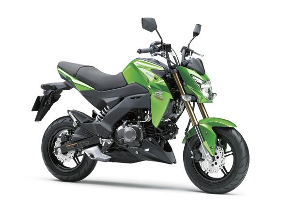 Kawasaki ra mắt dòng 125 phân khối cạnh tranh với MSX 125