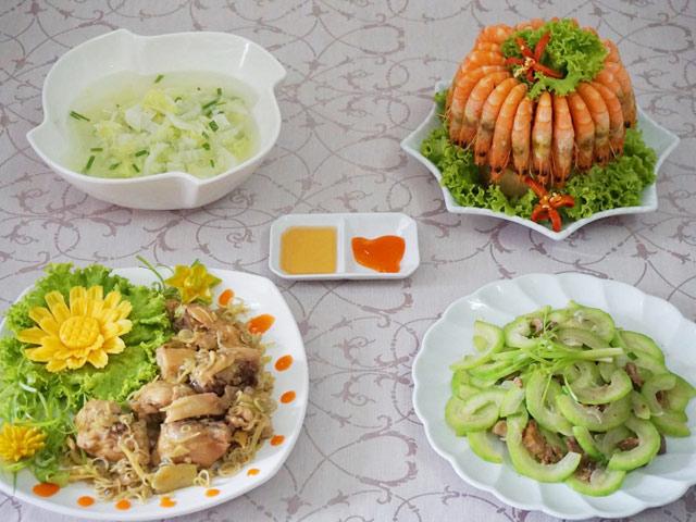 Thực đơn cơm chiều ngon miệng cho gia đình