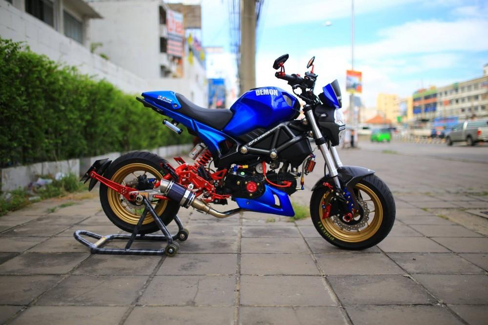 Ducati Mini độ phong cách cùng dàn đồ chơi kiểng cá tính