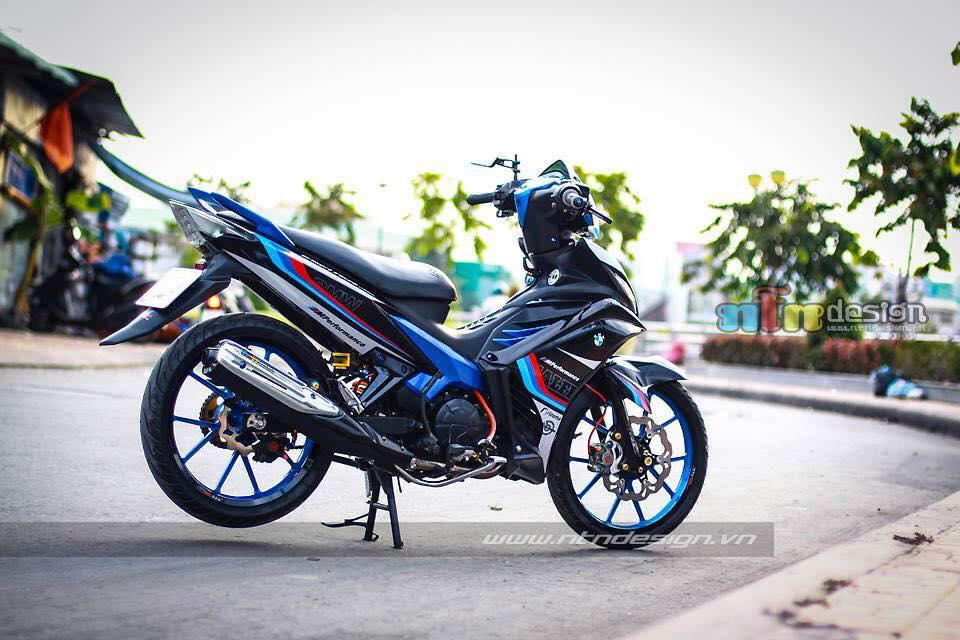 Hình ảnh Yamaha exciter phiên bản BMW MPerformance s135rr