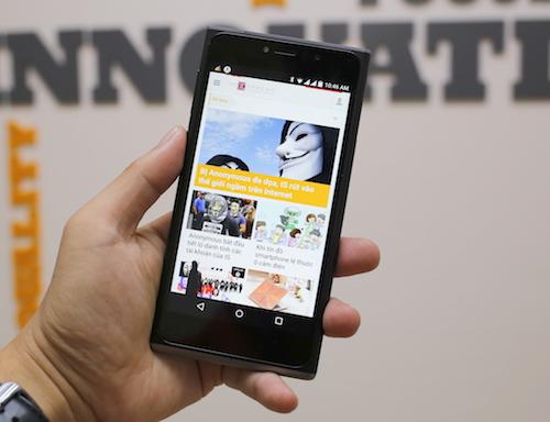 Smartphone Mỹ dáng đẹp, giá mềm