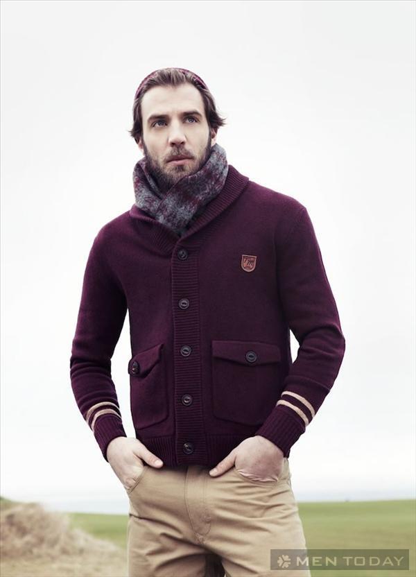 Đơn giản và nam tính với trang phục Tom Morris