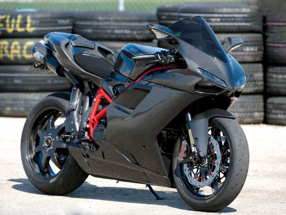 Ducati 1098 phiên bản độ full carbon mạnh mẽ