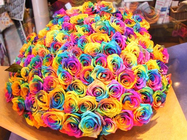 10 phút biến ra hoa bảy sắc mê mẩn lòng người