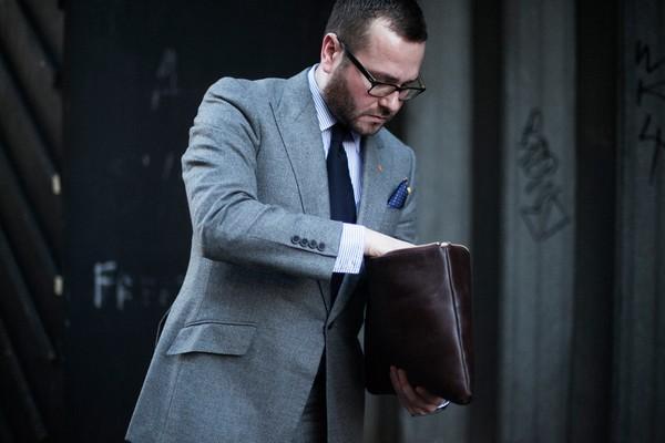Các kiểu briefcase dành cho quý ông