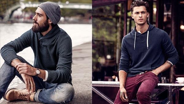 Cùng lookbook thời trang nam thu đông cá tính