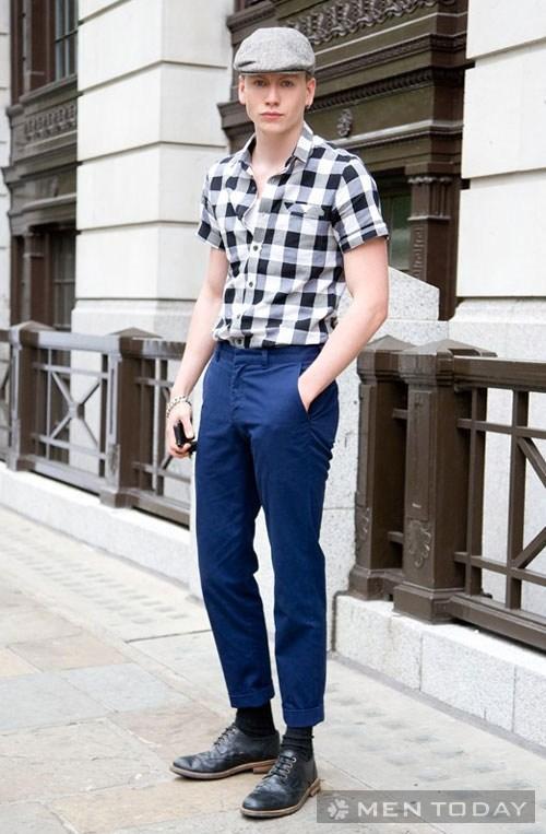 'Học lỏm' cách mặc áo sơ mi nam đẹp từ Milan FW