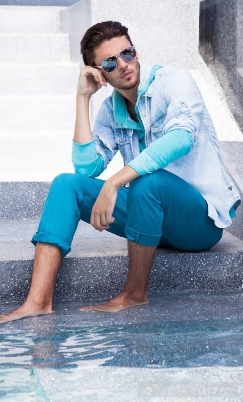 Trẻ trung và phong cách với BST thời trang nam Xuân hè