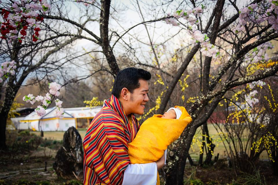 Trồng 108.000 cây xanh mừng hoàng tử bé chào đời