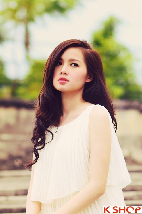 10 kiểu tóc đẹp xinh xắn của Hot Girl Việt