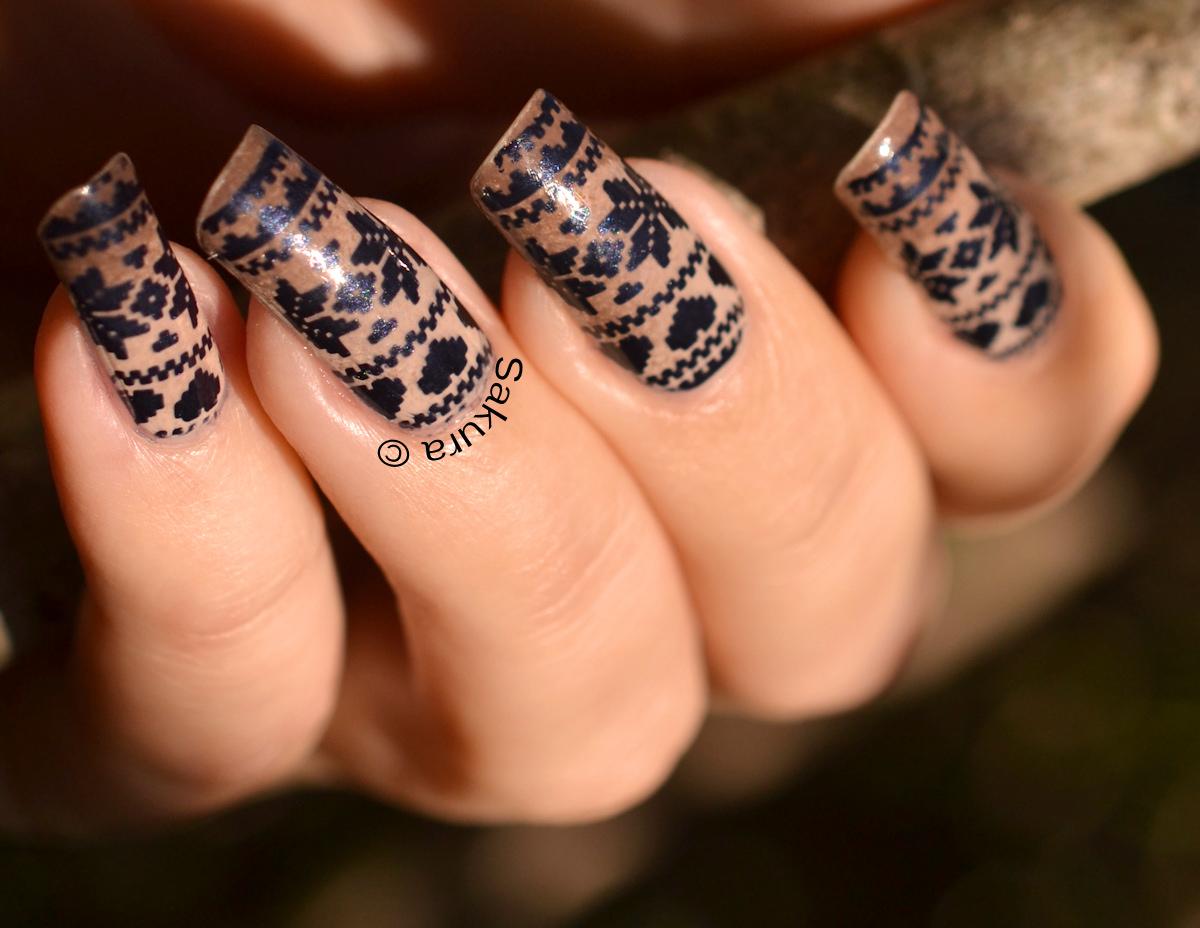 10 móng tay nail họa tiết đẹp hè cho cô nàng cá tính thêm nổi bật